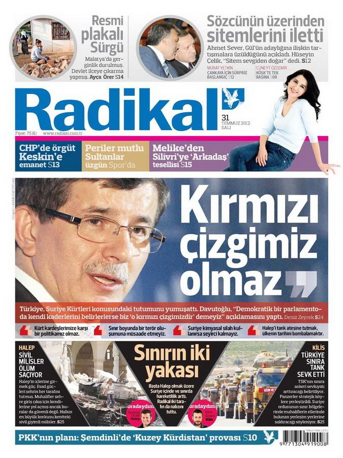 Gazete Manşetleri - 31 Temmuz 2012 13