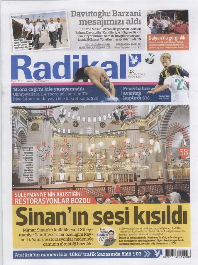Gazete Manşetleri - 2 Ağustos 2012 9