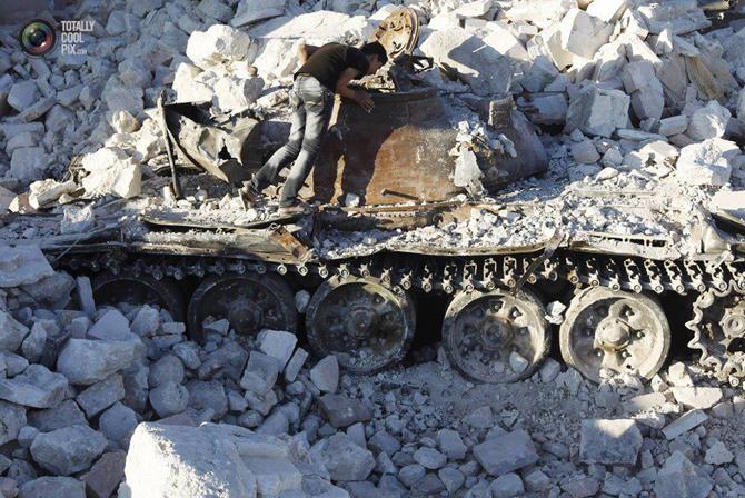 Halepten Çatışma Görüntüleri 10