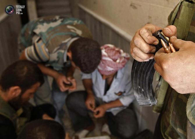 Halepten Çatışma Görüntüleri 11