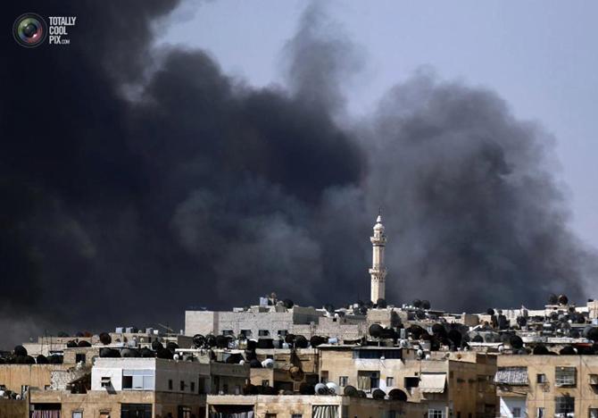Halepten Çatışma Görüntüleri 12