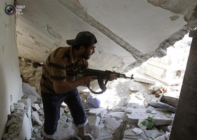 Halepten Çatışma Görüntüleri 15