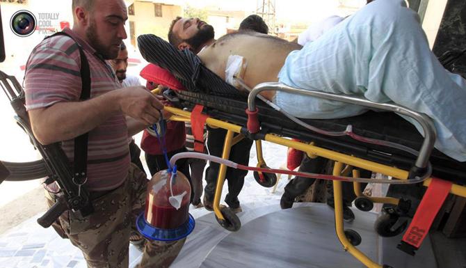 Halepten Çatışma Görüntüleri 16