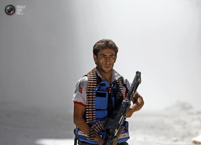 Halepten Çatışma Görüntüleri 17