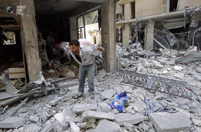 Halepten Çatışma Görüntüleri 18