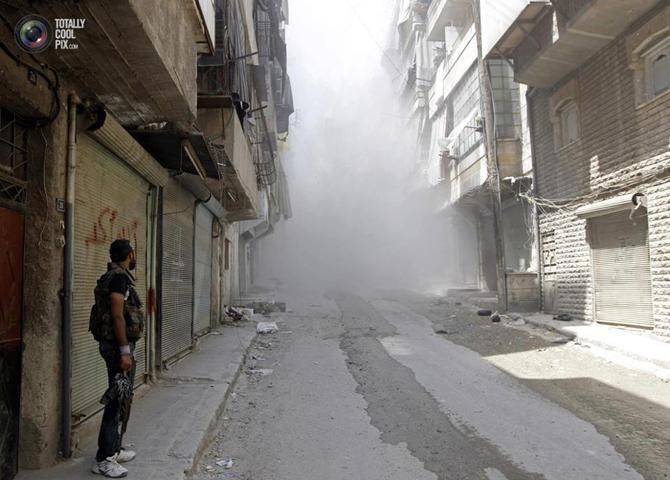 Halepten Çatışma Görüntüleri 19
