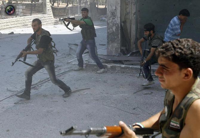Halepten Çatışma Görüntüleri 2