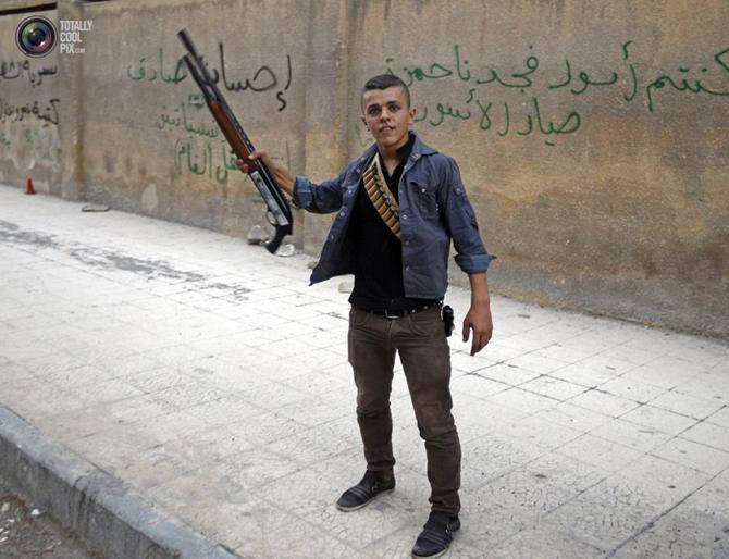 Halepten Çatışma Görüntüleri 20
