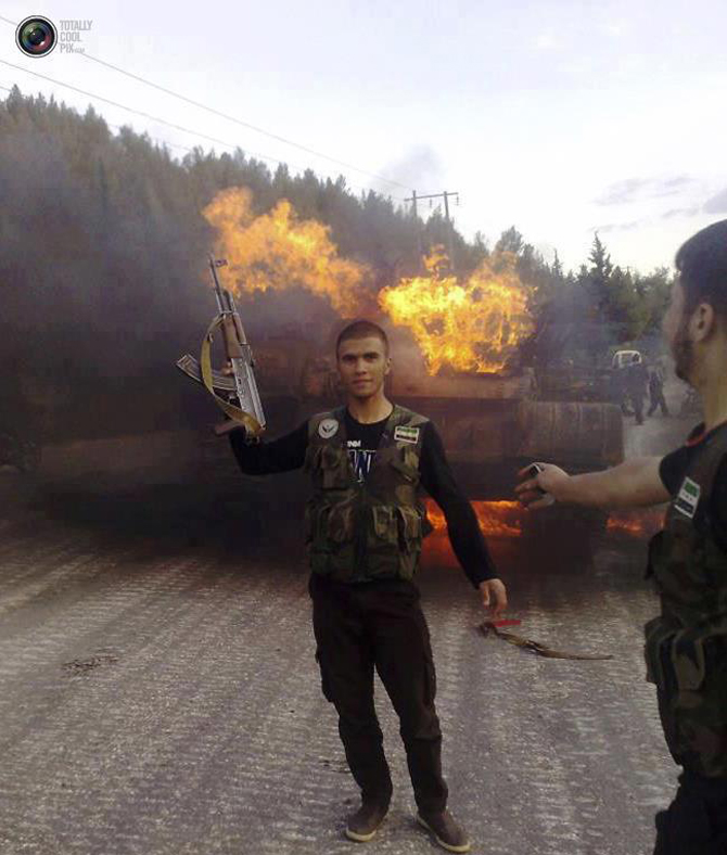Halepten Çatışma Görüntüleri 21