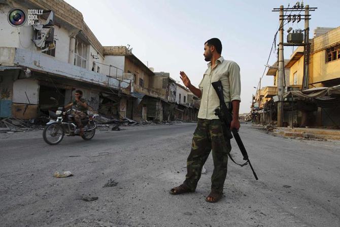 Halepten Çatışma Görüntüleri 22