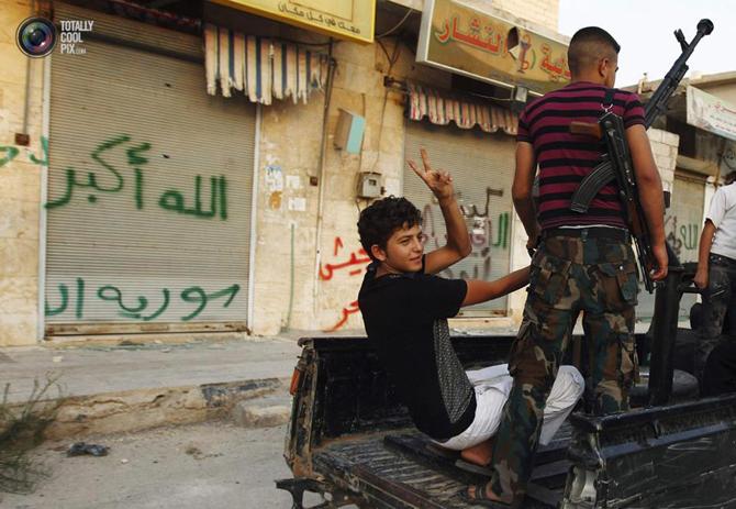 Halepten Çatışma Görüntüleri 23