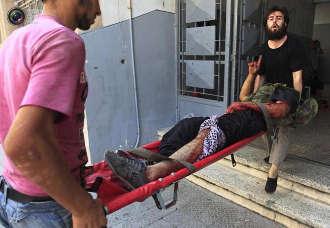 Halepten Çatışma Görüntüleri 25