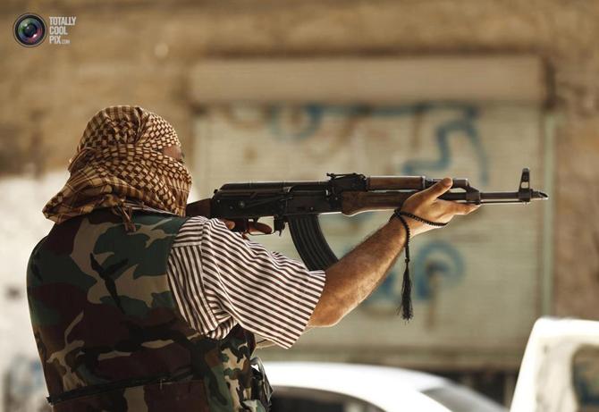 Halepten Çatışma Görüntüleri 26