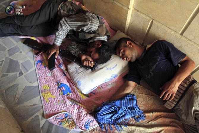 Halepten Çatışma Görüntüleri 28