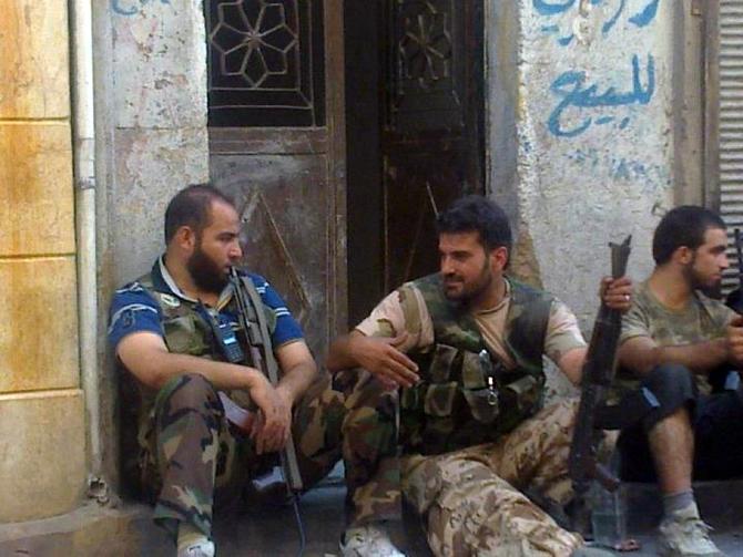 Halepten Çatışma Görüntüleri 29