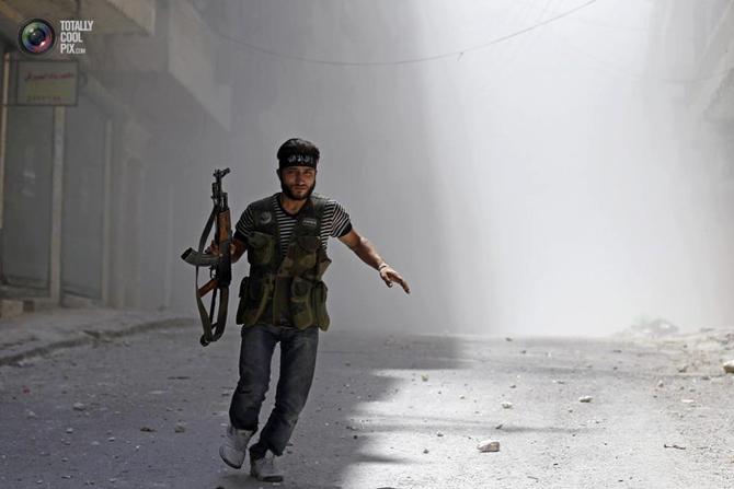 Halepten Çatışma Görüntüleri 3