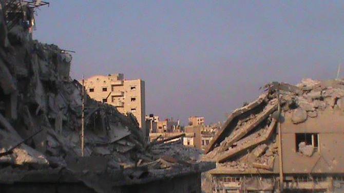 Halepten Çatışma Görüntüleri 30