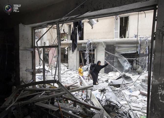 Halepten Çatışma Görüntüleri 4
