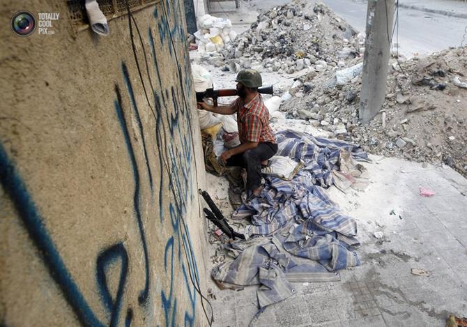 Halepten Çatışma Görüntüleri 5