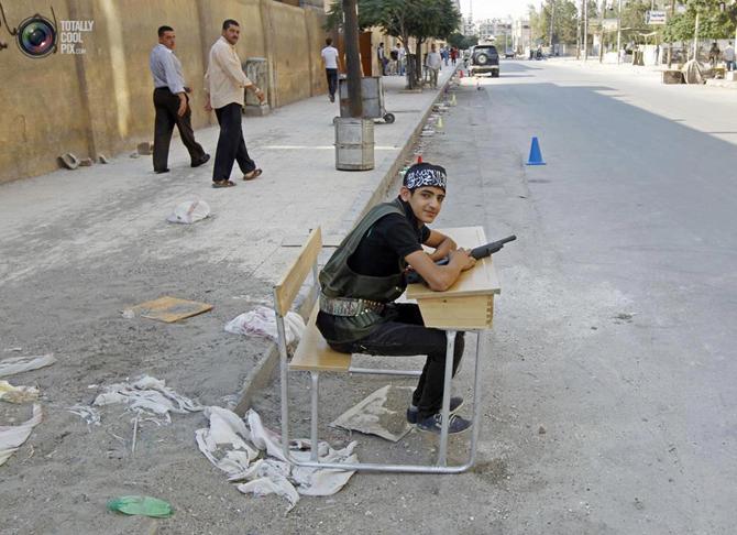 Halepten Çatışma Görüntüleri 6