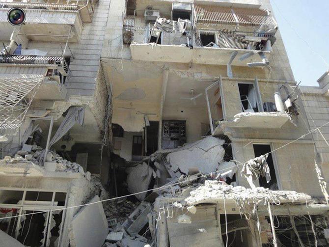 Halepten Çatışma Görüntüleri 7