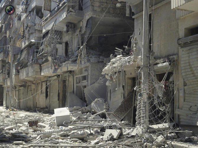 Halepten Çatışma Görüntüleri 8