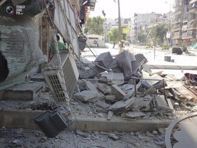 Halepten Çatışma Görüntüleri 9