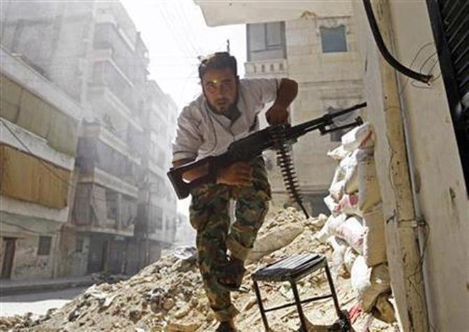 Halepten Çatışma Görüntüleri