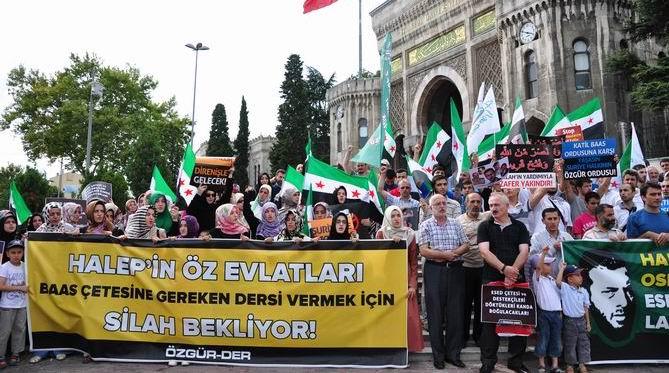 Halep Direnişine Beyazıt'ta Destek Eylemi 2