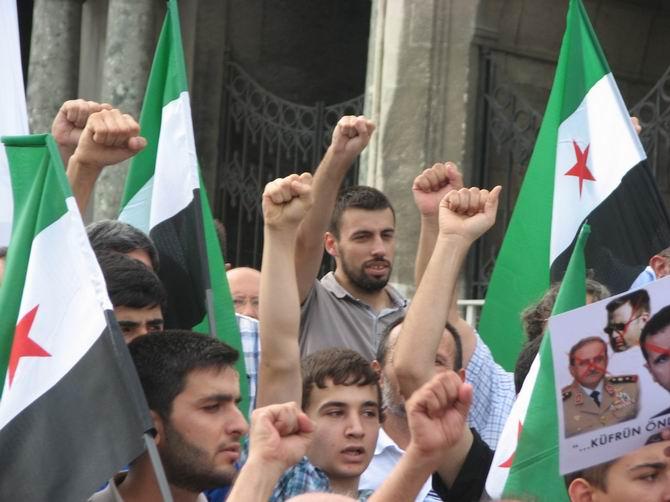 Halep Direnişine Beyazıt'ta Destek Eylemi 5
