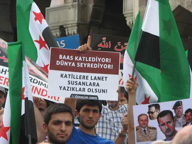 Halep Direnişine Beyazıt'ta Destek Eylemi 6
