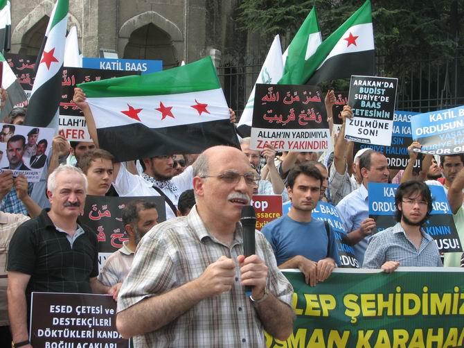 Halep Direnişine Beyazıt'ta Destek Eylemi 7
