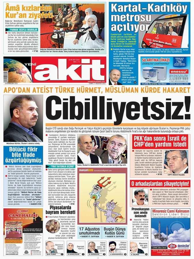 Gazete Manşetleri - 17 Ağustos Cuma 4