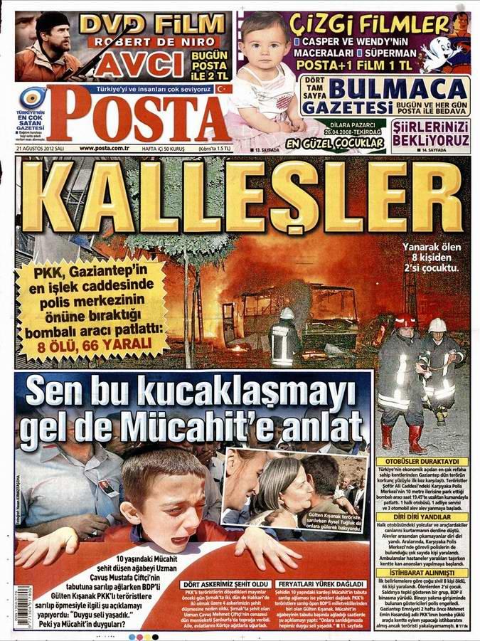 Gazete Manşetleri - 21 Ağustos Salı 9