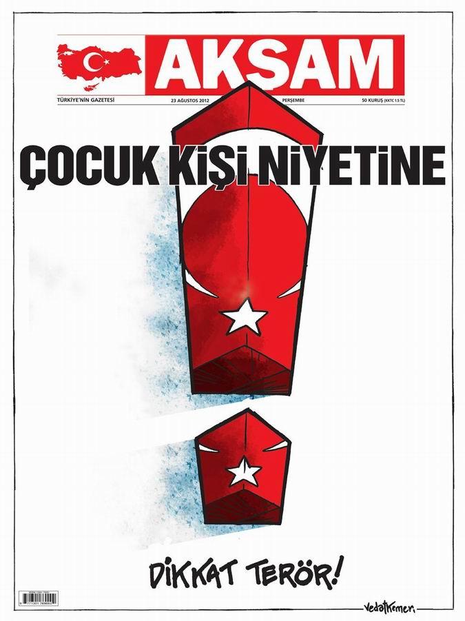 Gazete Manşetleri - 23 Ağustos Perşembe 22