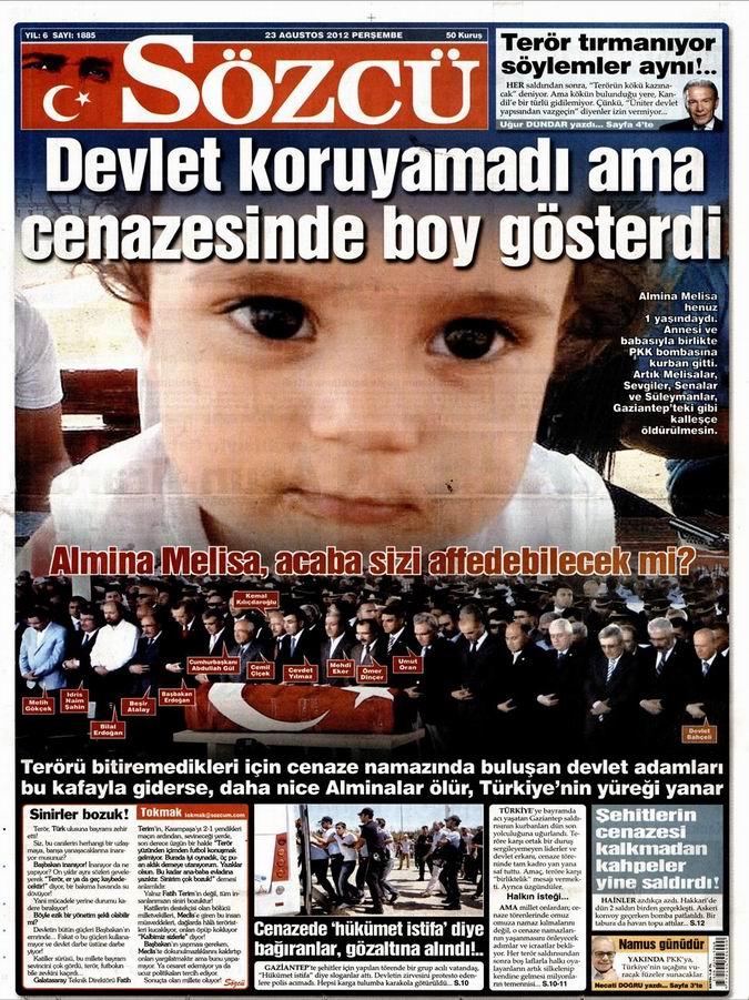 Gazete Manşetleri - 23 Ağustos Perşembe 9