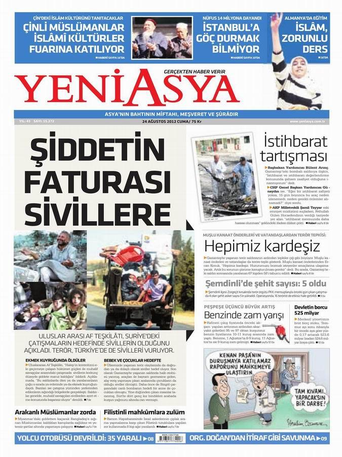 Gazete Manşetleri - 24 Ağustos Cuma 3