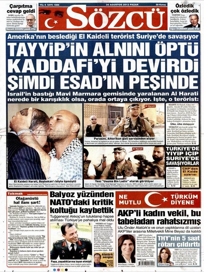 Gazete Manşetleri - 26 Ağustos Pazar 10