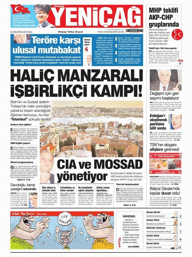 Gazete Manşetleri - 28 Ağustos Salı 7