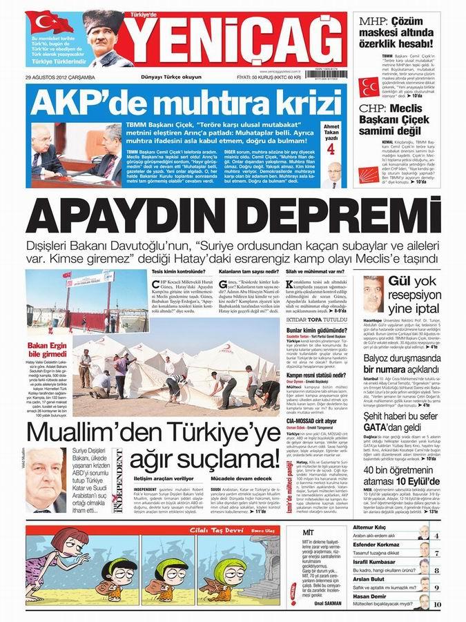 Gazete Manşetleri - 29 Ağustos Çarşamba 7