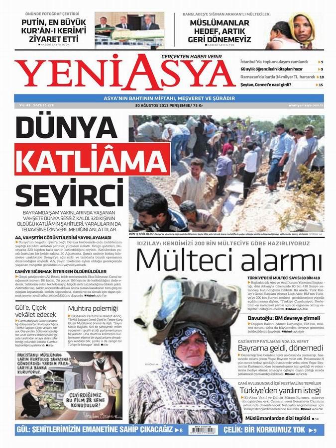 Gazete Manşetleri - 30 Ağustos Perşembe 3