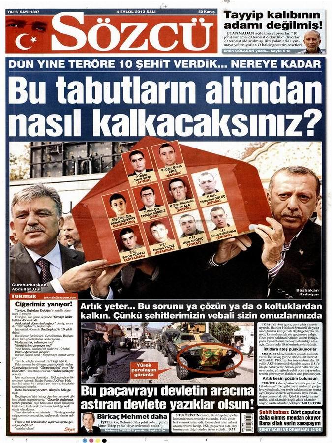 Gazete Manşetleri - 4 Eylül Salı 11
