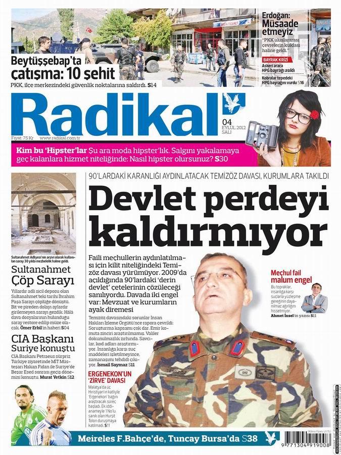 Gazete Manşetleri - 4 Eylül Salı 13