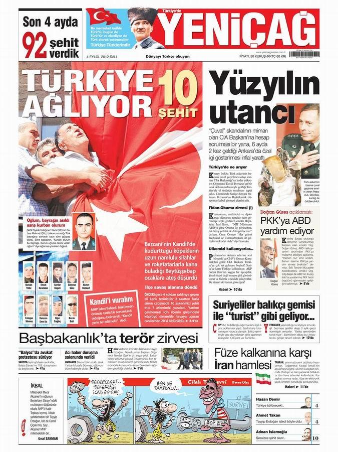 Gazete Manşetleri - 4 Eylül Salı 6