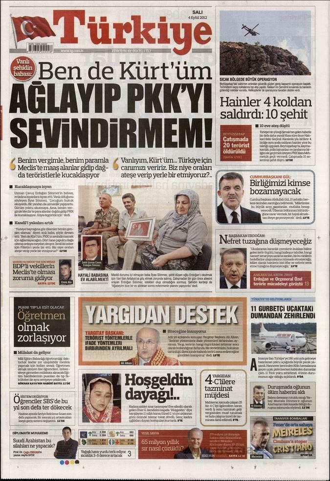 Gazete Manşetleri - 4 Eylül Salı 7