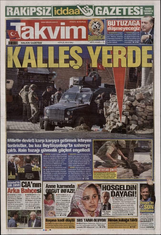 Gazete Manşetleri - 4 Eylül Salı 9