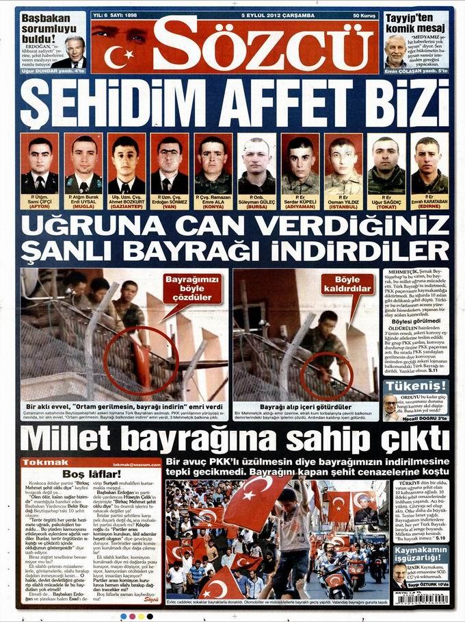 Gazete Manşetleri - 5 Eylül Çarşamba 10