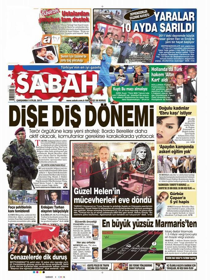 Gazete Manşetleri - 5 Eylül Çarşamba 11