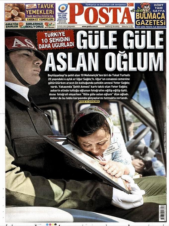 Gazete Manşetleri - 5 Eylül Çarşamba 13