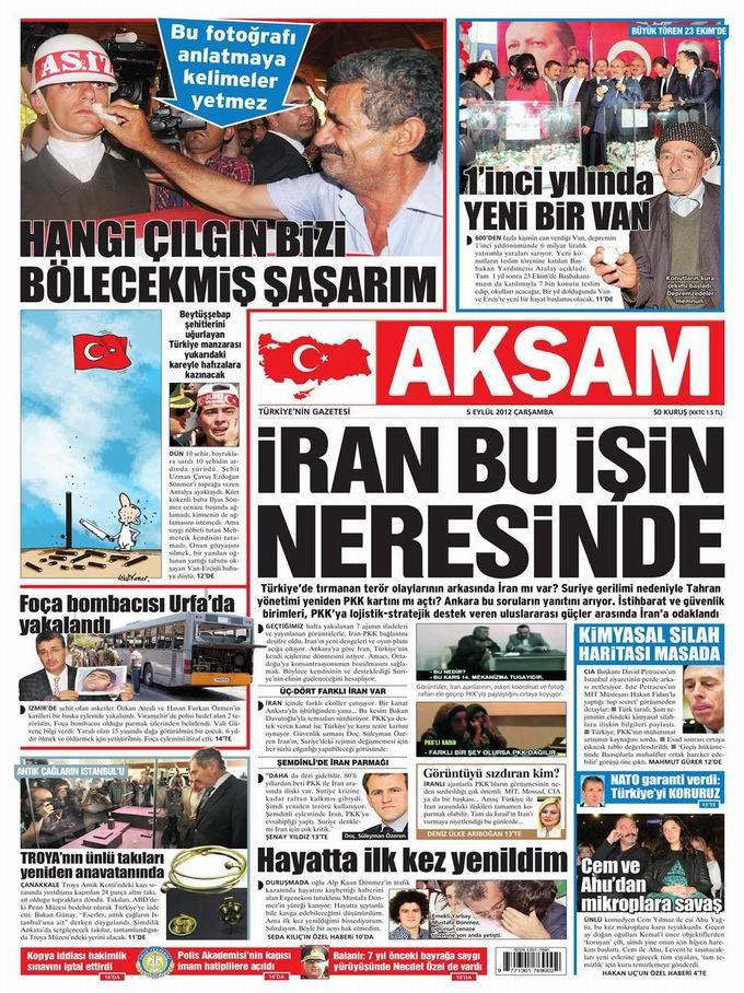 Gazete Manşetleri - 5 Eylül Çarşamba 24